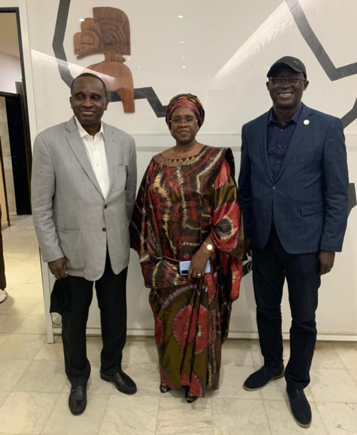Présidence CAF : Augustin Senghor en tournée à Conakry, prochaine étape le Maroc ...
