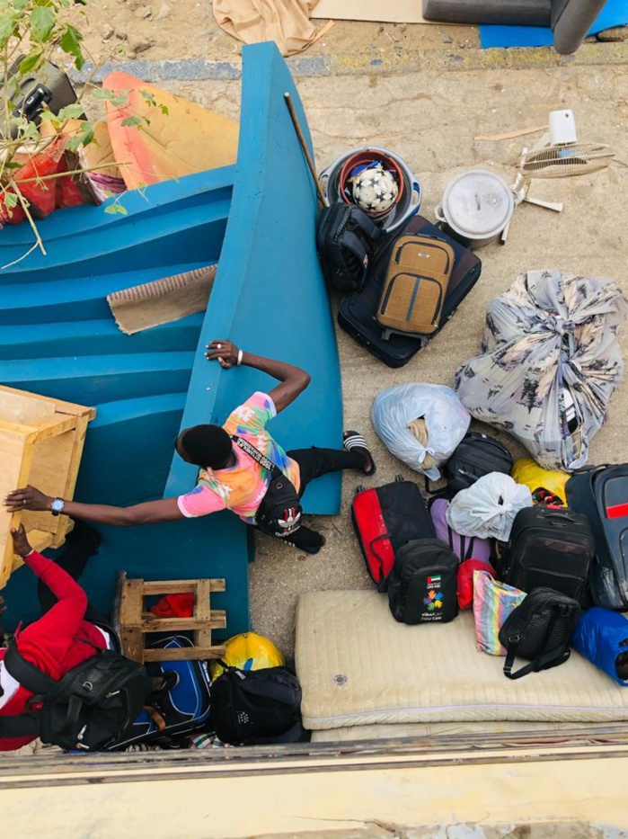 Expulsés de leur logement à Dakar : Les étudiants ressortissants de Ndoffane reçoivent l'aide d'une bonne volonté.