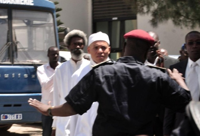 Dernière minute: Karim Wade placé sous mandat de dépôt
