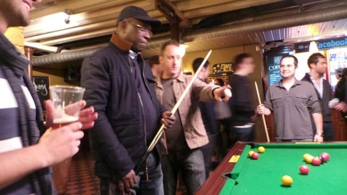 Souleymane Ndéné Ndiaye à Londres