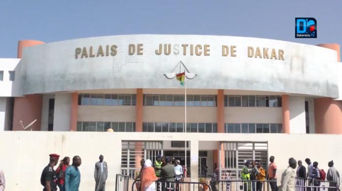 Dispositif sécuritaire : Le palais de justice quadrillé par les forces de l'ordre en attendant l'arrivée de Ousmane Sonko.