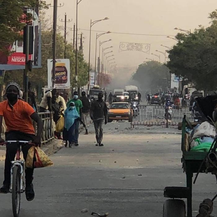 Arrestation de Ousmane Sonko : La station Total de Liberté 6 complètement saccagée.