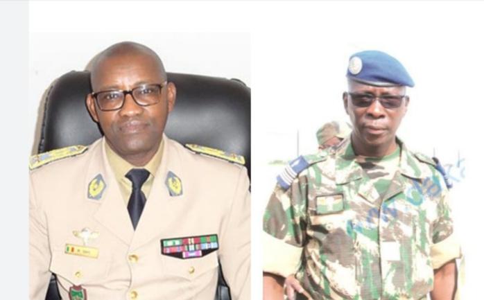 ARMÉES : HAUT-COMMANDANT EN SECOND ET SOUS-CEMG : Les généraux Moussa Fall et Mamadou Gaye promus