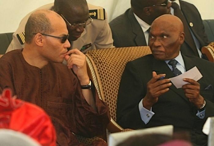 """Depuis Versailles, Me Abdoulaye Wade lance ce message à son fils Karim/ """"Tu n'as rien à te reprocher, donc tu n'a pas à t'en faire!'"""