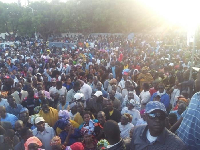 Marche PDS, les libéraux réussissent leur pari de la mobilisation et chargent le président Macky sall