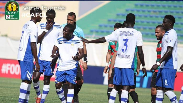 Ligue des Champions CAF / groupe D : Teungueth FC chute à domicile contre le Mouloudia d'Alger (0-1)