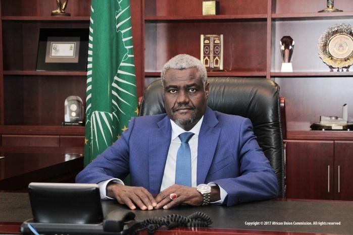 Situation du pays : L'Union Africaine condamne les actes de violence et de pillage. (Moussa Faki Mahamat)