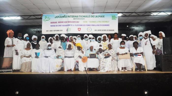 Manifestations au Sénégal : La plateforme des femmes pour la paix en Casamance appelle à l'apaisement du climat social.