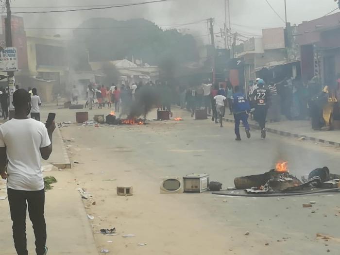 Affaire Ousmane Sonko : Les manifestations ont repris à Ziguinchor.