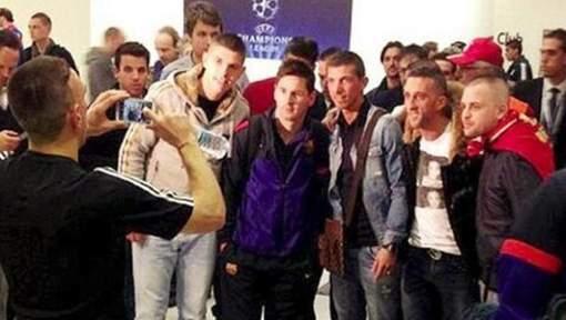 Ribéry, le photographe de Messi