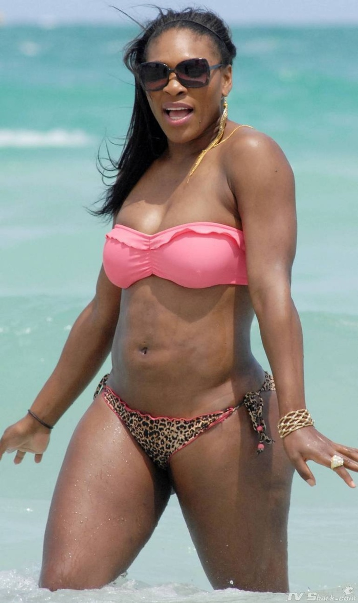 Serena Williams en mode sexy