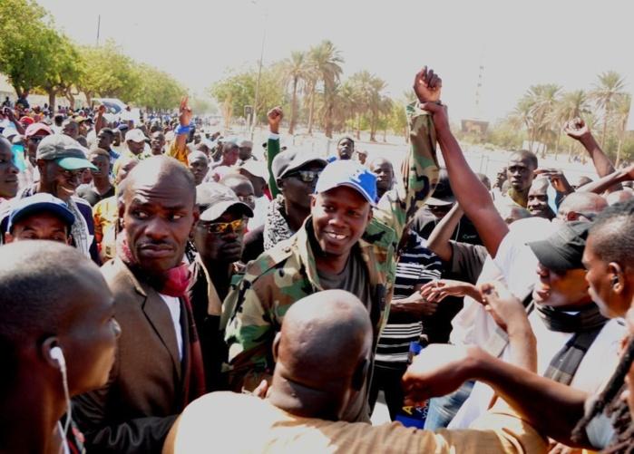 Mamadou Lamine Massaly et Bara Gaye, accueillis en héros à la marche des libéraux