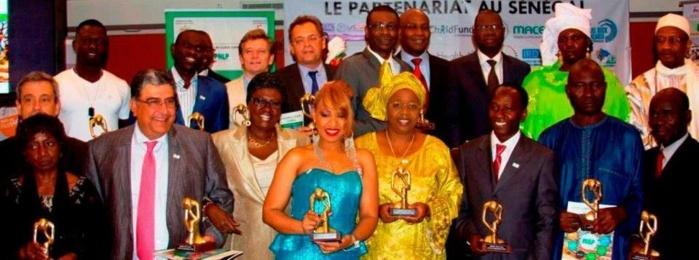 Viviane Chidid à recu un prix de USAID Senegal pour marquer la Journée mondiale du paludisme