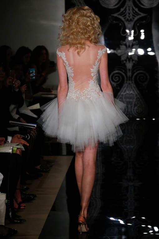 Etes-vous prête à vous marier en robe courte et sexy?