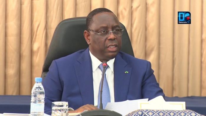 SÉNÉGAL : Le Président Macky Sall annonce la fin de l'état de catastrophe sanitaire pour le 19 mars