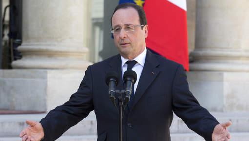 Les Français insatisfaits de la première année de Hollande