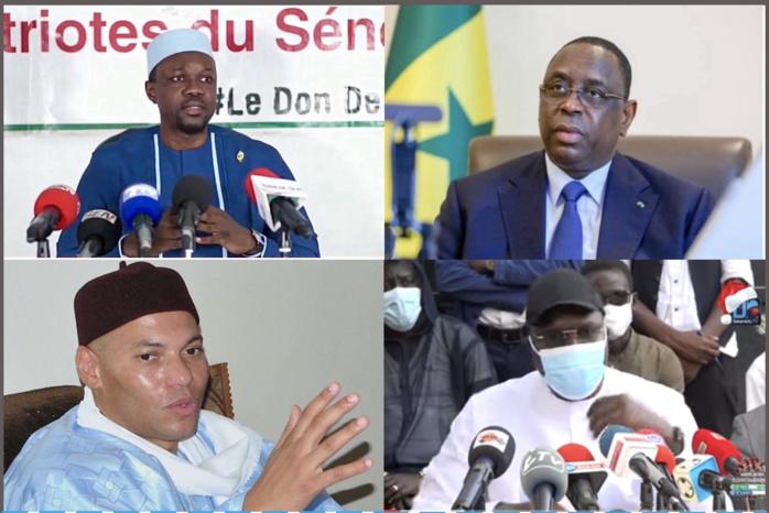 Bipolarisme Macky / Ousmane Sonko : la remise en « selle » de Karim Wade et Khalifa Sall et la création d'un front Républicain sérieusement envisagés pour contrer la montée des ultras.