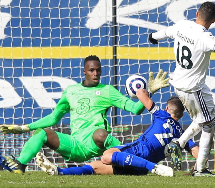 Premier League / Chelsea : Édouard Mendy élu homme du match face à Leeds.