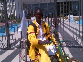 Sénégal : l'exploit d'un handicapé pour la paix en Casamance