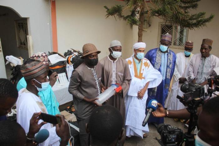 Médina Baye : La cité de Mawlana Cheikh Al Islam offre un important lot de matériel médical à l'hôpital régional de Kaolack.