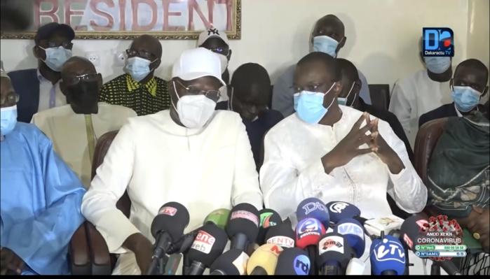 Khalifa Sall à Ousmane Sonko : « Quand il y a une majorité qui se conforte, se consolide et qui s'élargit, il nous faut une opposition unie qui se renforce et qui est puissante »