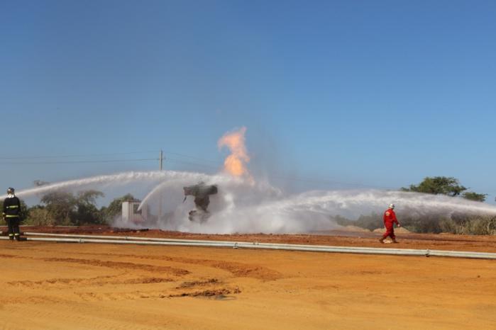 Explosion puits de gaz : Trois mois après, les flammes continuent de régner sur Ngadiaga.