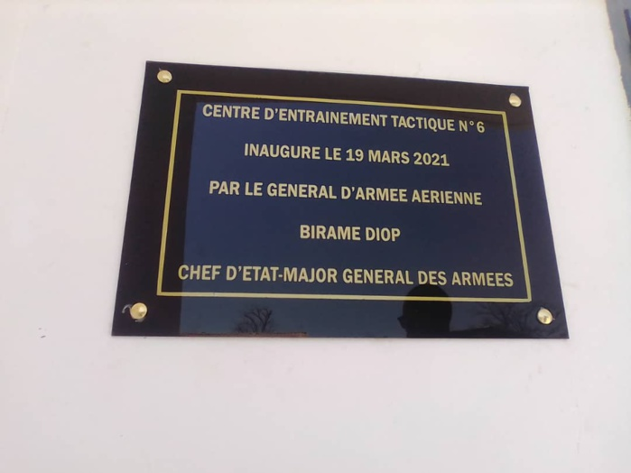 KOLDA : le CEMGA Biram Diop installe le nouveau colonel de la zone militaire numéro 6.