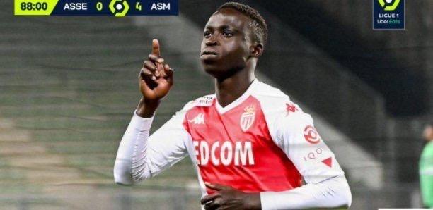 Ligue 1 / Monaco : Krépin Diatta a inscrit son premier but sous ses nouvelles couleurs.