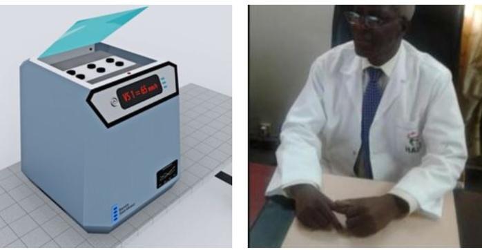 Salon international des inventions technologiques : le « Bamba Sédi-Mixt® » de l'ingénieur en Génie Biologique, Adama Faye hissé à la 2ème place du Podium
