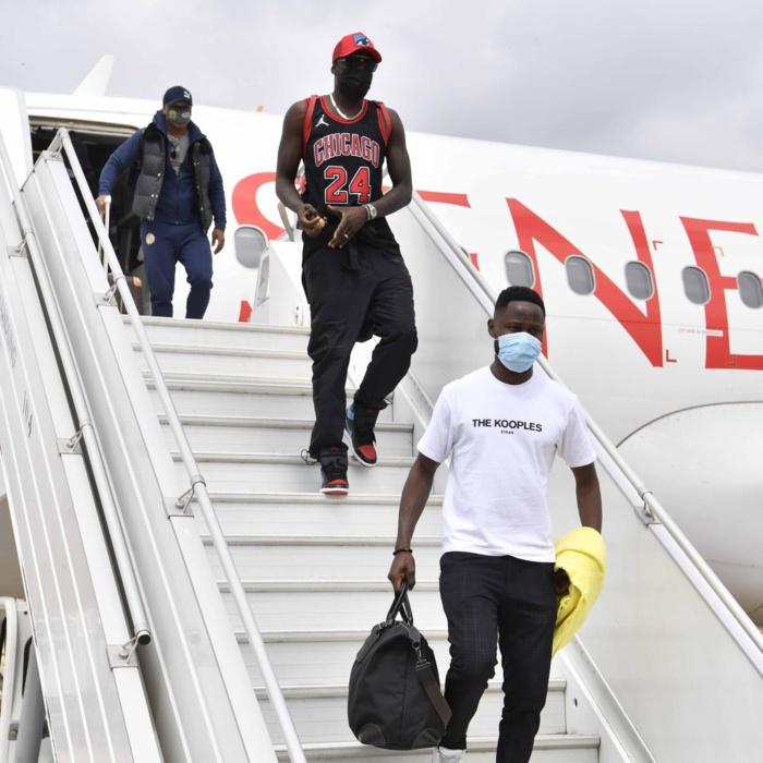 Éliminatoires CAN 2022 / Sénégal - Congo : Revivez l'arrivée des Lions du Sénégal à Brazzaville...