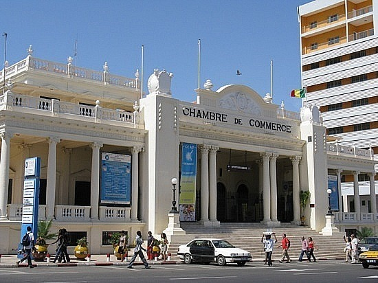 Chambre de commerce de dakar le palais et la primature for Chambre de commerce dakar senegal