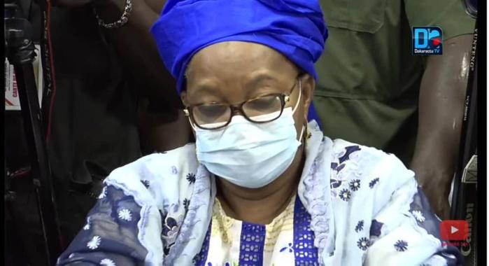Soutien aux familles des victimes des dernières manifestations : Aïda Mbodj apporte une contribution d'un million de franc CFA