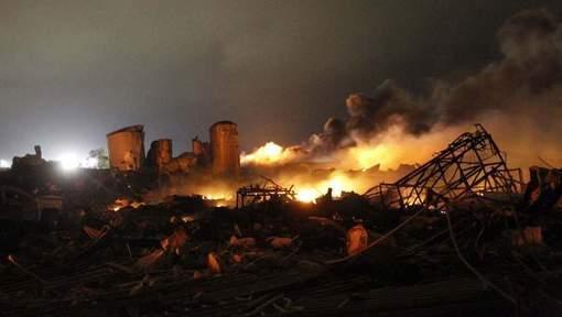 Enquête pénale suite à l'explosion de l'usine d'engrais au Texas