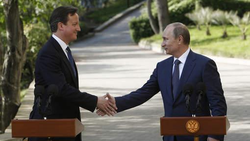 """Syrie: Poutine et Cameron ont discuté des """"options possibles"""""""