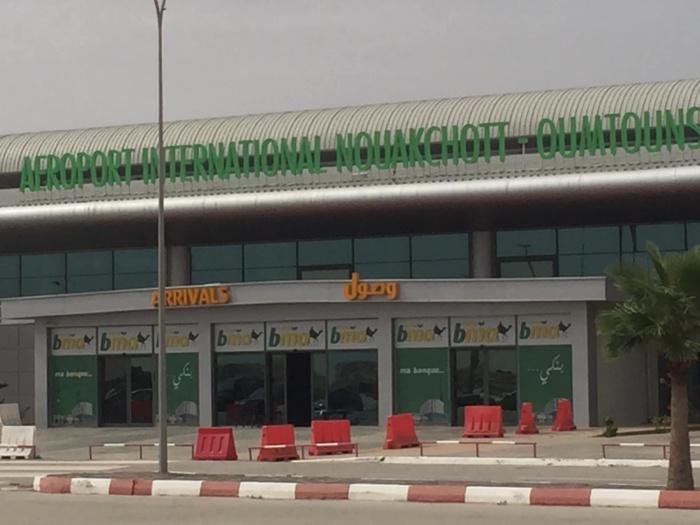 Mauritanie : un homme sème la panique à l'aéroport de Nouakchott.
