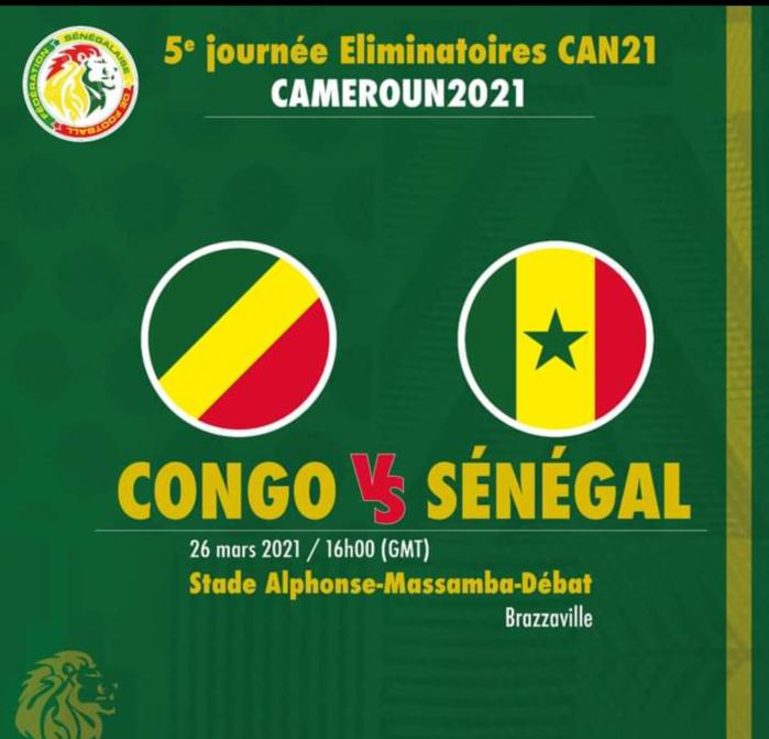 Éliminatoires CAN 2020 / Congo Brazza – Sénégal : Aliou Cissé et sa bande pour conserver leur invincibilité… (16h00 Gmt)