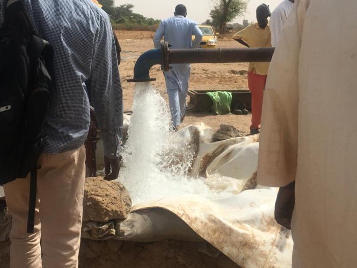 Renouvellement du forage de Sibasssor : Les travaux seront bouclés dans 03 jours.
