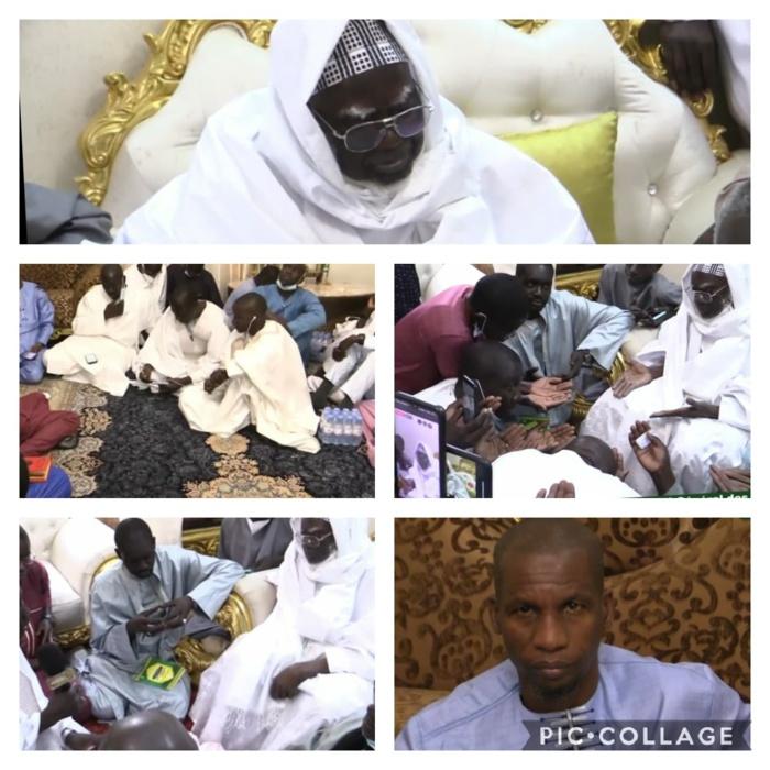AU KHALIFE DES MOURIDES / Clédor Sène et Assane Diouf assurent être prêts à œuvrer pour la paix... Le Patriarche les invite à cultiver le «yarr» et le «teggìn»