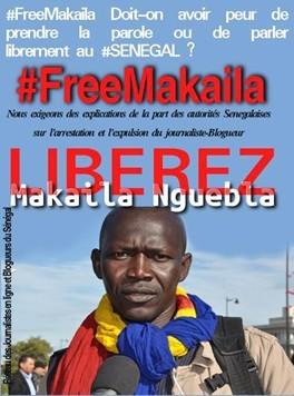 Conférence de presse du Comité de soutien à Makaila Nguebla