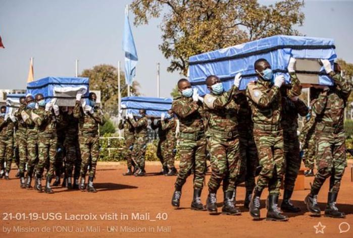4 Casques bleus tchadiens tués à Aguelhok (Mali) : la Minusma condamne fermement cette « ignoble attaque terroriste »