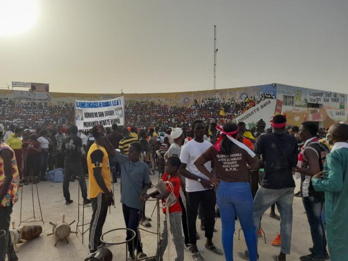 Méga-meeting / Démonstration de force : Les responsables politiques sortent les gros moyens afin de montrer que Kaolack est derrière le président Macky Sall.