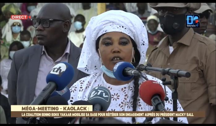 Awa Guèye : «Le cœur de Kaolack bat pour le président Macky Sall...»