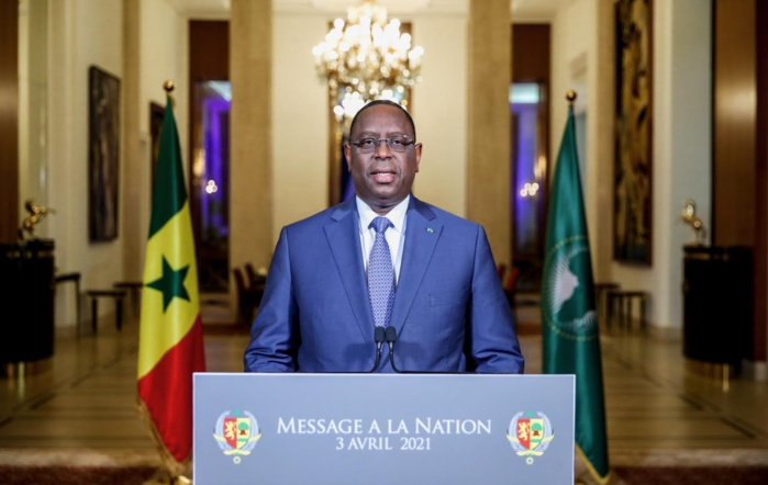 CELEBRATION DU 61e ANNIVERSAIRE DE L'INDEPENDANCE DU SENEGAL  : Le message à la Nation du président de la République Macky Sall.