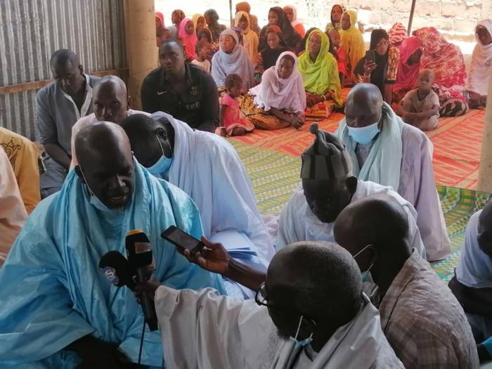 Kaolack : La délégation du Khalife général des mourides reçue à Ndoffane et à Médina Sabakh.