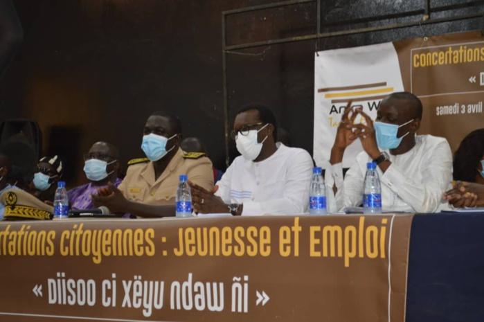 Tambacounda : Mamadou KASSE et l´Association Anka Wouli réunissent les jeunes autour de la question de l´emploi
