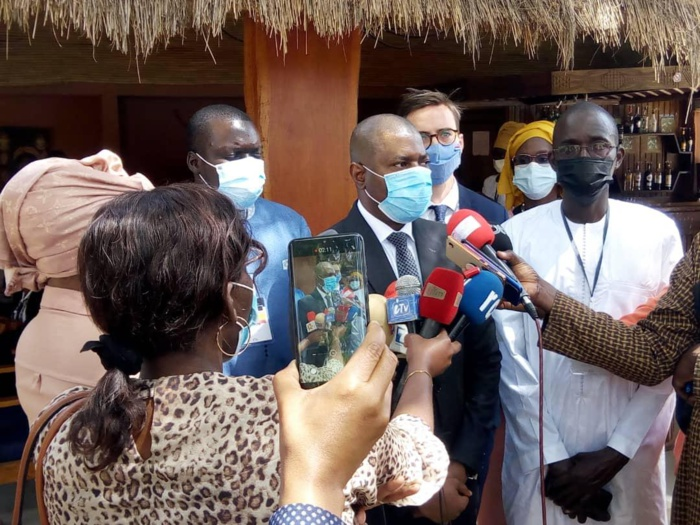 Saly / Justice : «Le président de la République m'a dit de manière ferme.... À qui veut l'entendre...» (Mamadou Saliou SOW, secrétaire d'État)