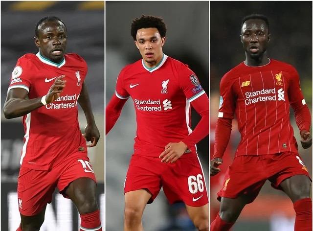 Racisme : Liverpool dénonce des insultes visant Sadio Mané, Alexander-Arnold, et Naby Keïta sur les réseaux sociaux.