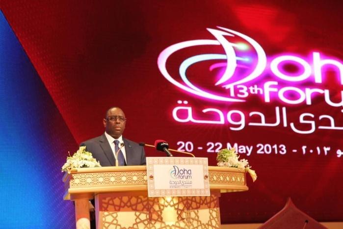 Le Sénégal fait son marketing économique à Doha