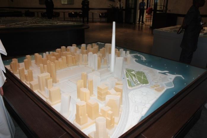 Macky Sall rêve d'une Cyber city au Lac rose, aux standards de «Qatar Diar» (Reportage photos et vidéos de la visite.)