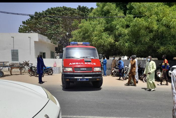 Sokone : La dépouille du défunt doyen des juges Samba Sall vient d'arriver à la grande mosquée.